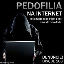 Denuncie Pedofilia