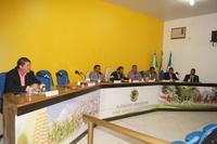 Primeira Sessão Ordinária do ano de 2019, da Câmara Municipal de Novo Horizonte do Sul.