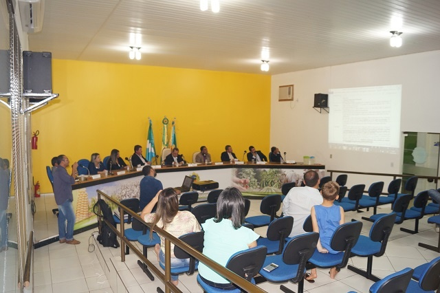 Resumo da 27ª sessão Ordinária do ano de 2018, da Câmara Municipal de Novo Horizonte do Sul.