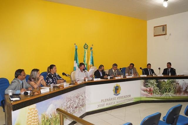 Resumo da 28ª sessão Ordinária do ano de 2018, da Câmara Municipal de Novo Horizonte do Sul.