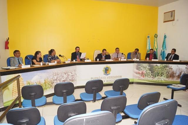 Resumo da 36ª sessão Ordinária do ano de 2018, da Câmara Municipal de Novo Horizonte do Sul.