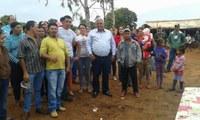 Vereador Preto quer saneamento e energia para sem tetos de Novo Horizonte do Sul