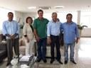 Vereadores de Novo Horizonte do Sul visitam diretor-presidente da Sanesul
